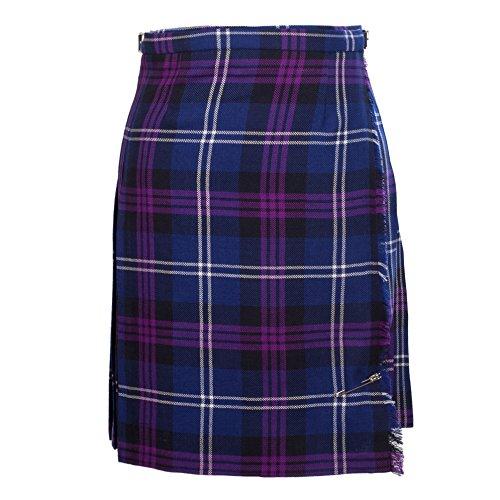 John Morrison Women's 12Oz Wool Knee Length Scottish Tartan Kilt Heritage Of Scotland (16) - Heritage Of Scotland Kilt