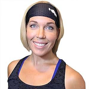 Wodbottom Athletic Sports headband - Black