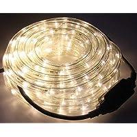 Led-lichtslang, warmwit, 12 meter, Ø 12 mm, IP44, voor binnen en buiten