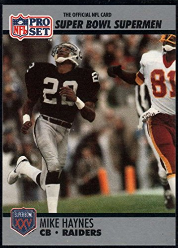 - Football NFL 1990-91 Pro Set Super Bowl 160 #104 Mike Haynes NM-MT LA Raiders