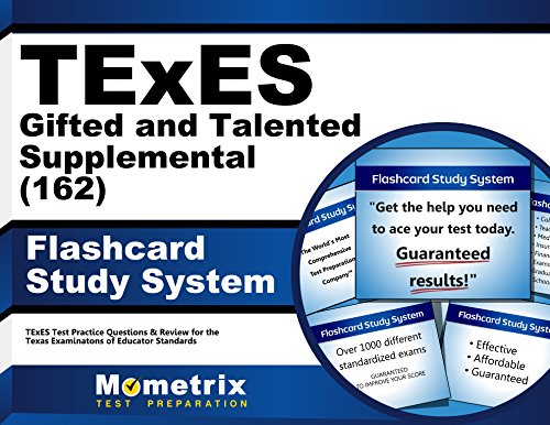TExES Gifted and Talented Supplemental (162) Flashcard Study System: TExES Test Practice Questions & Review for the Texas Examinations of Educator Standards (Cards)