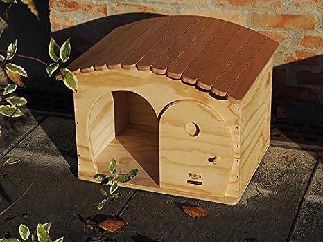 Blitzen GinaBig novedades, WP-caseta para perro outdoor de gran tamaño para gatos y perros tamaño pequeño, con termoregolata techo tiragraffi, resistente a ...