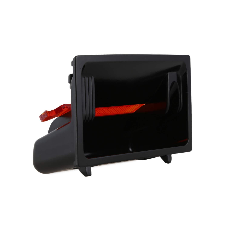 Semoic Tragbare Auto Auto LKW LED Zigaretten Rauch Aschenbecher Asche Zylinder Cup Holder F/ür A4 S4 A5 S5 Q5 Rs4 Rs5 Auto Halter 8K0857989