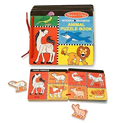 Melissa & Doug Animal Puzzle Book: Melissa & Doug: Toys & Games