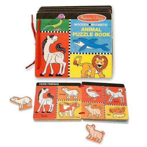 Melissa Doug Animal Puzzle Book