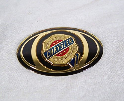 (Chrysler 300 Front Grille Emblem 05-10 Grill Oval Badge Sign Symbol Logo)