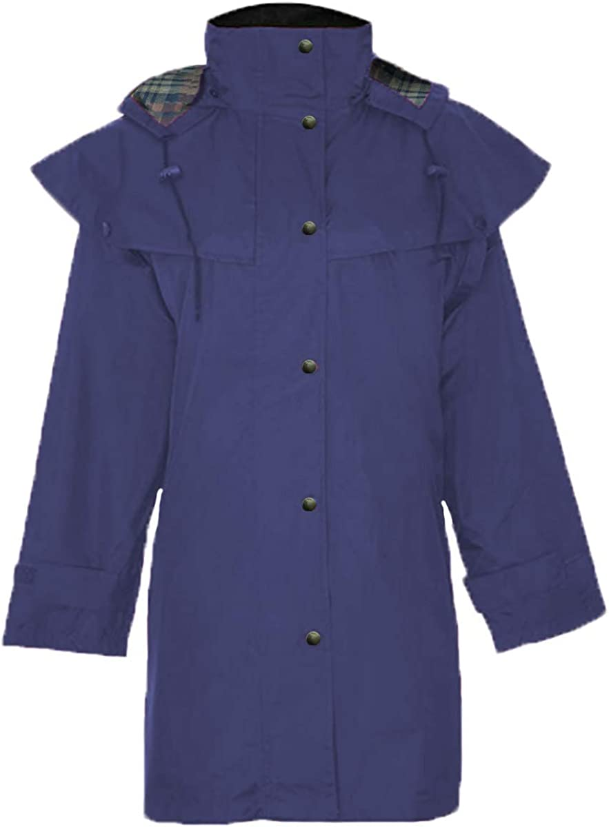 Green Belt Ladies Hunton Waterproof 3//4 Length Riding Cape Coat