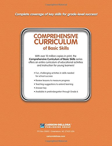 Comprehensive Curriculum of Basic Skills, Grade K: Thinking Kids ...