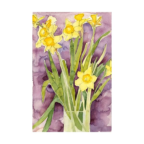 Floral Watercolor Print – Daffodils – Fine Art Painting, Wall Decor, Gift