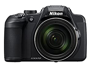 Nikon COOLPIX B700 20.2 MP 60x Opt Zoom Super Telephoto NIKKOR 4K Digital Camera Bundle Set w/ Rechargeable Battery, Charger, Euro Adapter etc from Nikon