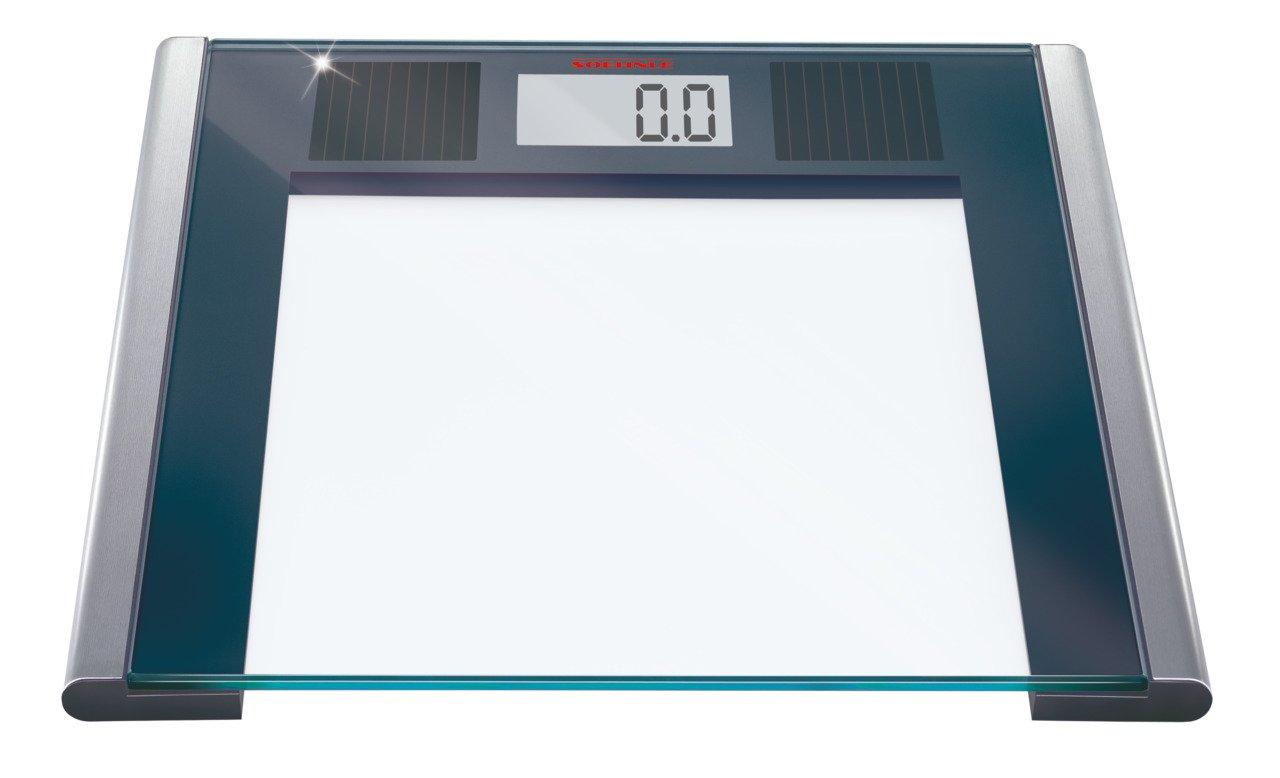 Soehnle Solar Sense, LCD, Negro, Plata, Transparente - Báscula de baño: Amazon.es: Salud y cuidado personal