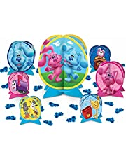 Amscan Blues Clues Table Decorating Kit, 7 Centerpieces and 24 Confetti Pieces