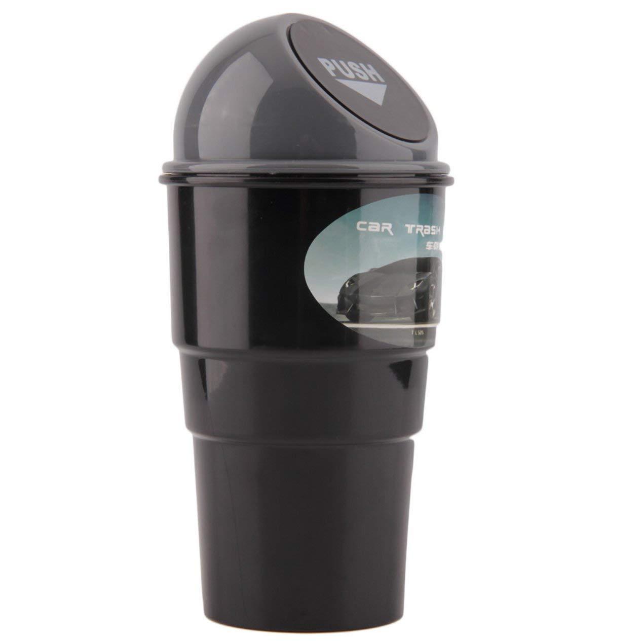 EdBerk74 Mini Qualified Delicate Delicado Coche Basura Puede veh/ículo Papelera de Basura Bolsa de Polvo Caso Basura contenedor