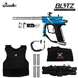 zephyr chest protector - MAddog Azodin Blitz 3 Sergeant Paintball Gun Package - Blue