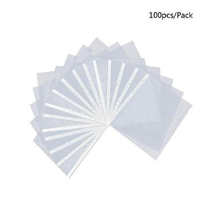 Chiic transparente carpeta de documento Cartas Plástico Copy ...