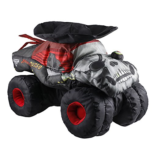 - Monster Jam Pirate's Curse Plush Truck
