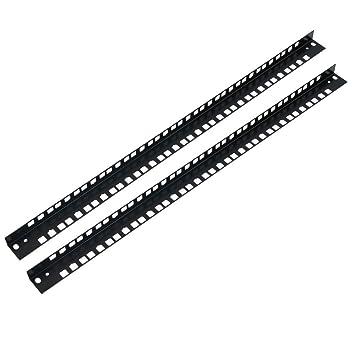 """RackMatic - Perfil rack 19"""" para SOHORack DIY 2 unidades de bastidores 12U"""