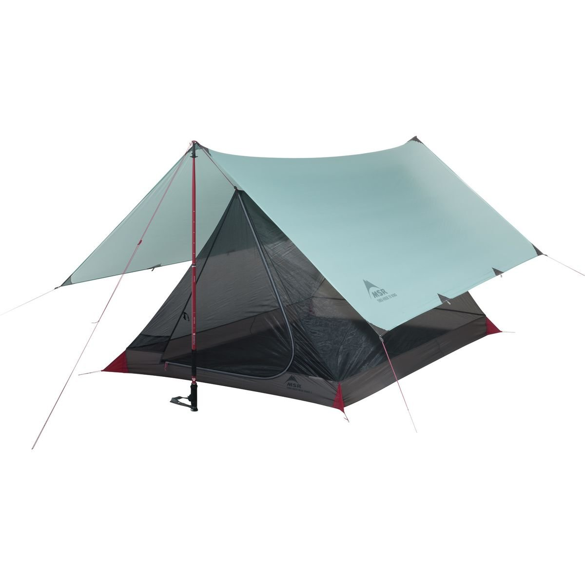 MSR Thru-Hiker Mesh House 2 Shelter Tent, Grey