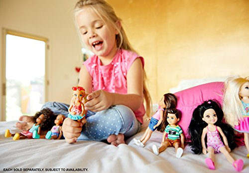 Review Barbie Club Chelsea Swimming Doll