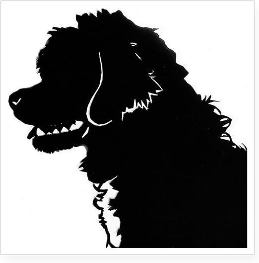 3/'/' or 5/'/' Poodle Dog Head Car Bumper Sticker Decal