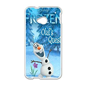 Olaf for HTC One M7 Cell Phone Case & Custom Phone Case Cover R88A652120