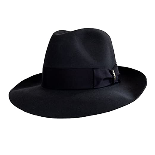 Amazon.com  Borsalino Verdi Fur Felt Hat  Clothing 746f3b056eb