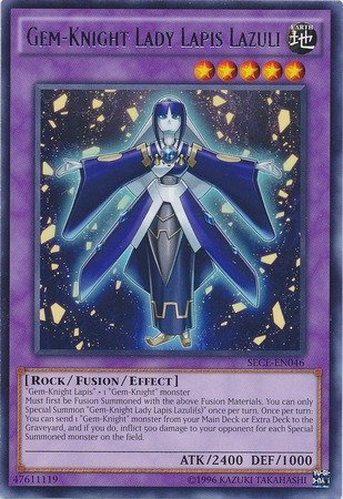 Yu-Gi-Oh! - Gem-Knight Lady Lapis Lazuli (SECE-EN046) - Secrets of Eternity: Super Edition - Unlimited Edition - Rare by Yu-Gi-Oh!