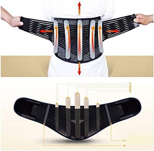 LLZGPZBD Tourmaline Self Heating Acciaio Bone Torna Lombare Supporto Cintura Cintura di Protezione Postura Correttore Corsetto Cintura Uomini
