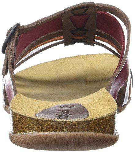 Brown 50 548160 Mules Womens Kickers Red Z87IqanqO