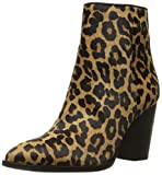 Sam Edelman Women's Blake Ankle Bootie, Brown/Black Leopard, 8 M US