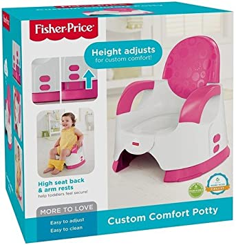 Fisher-Price Custom Comfort Potty Training Seat Girl  sc 1 st  Amazon.com : high chair with potty - Cheerinfomania.Com