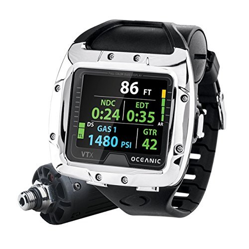 Oceanic VTX OLED Scuba Computer Only Personal Nitrox Dive Computer