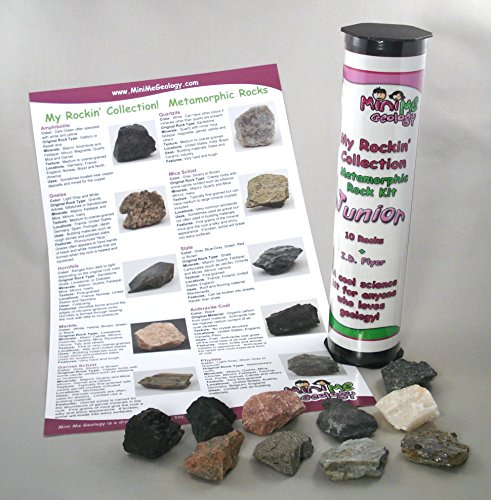 My Rockin' Collection Metamorphic Rock Kit Junior – Geology Collection