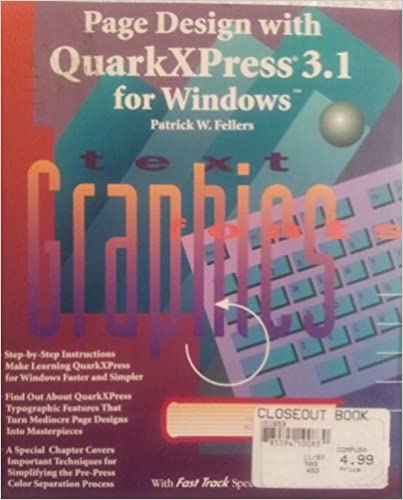 Book Page Design with QuarkXPress 3.1 Windows