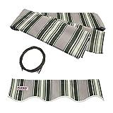 ALEKO FAB12X10MSTRGR58 Retractable Awning Fabric