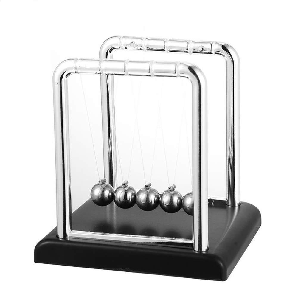 GTNINE Newton Balance Pendulum Cradle Steel Ball Physics Teaching Science Fun Desk Decor