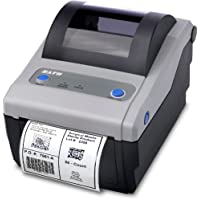 Sato WWCG18061 CG408 Thermal Transfer Printer - Monochrome - 4 inches/second - 203 dpi - Parallel, USB - 110, 220V AC (Certified Refurbished)