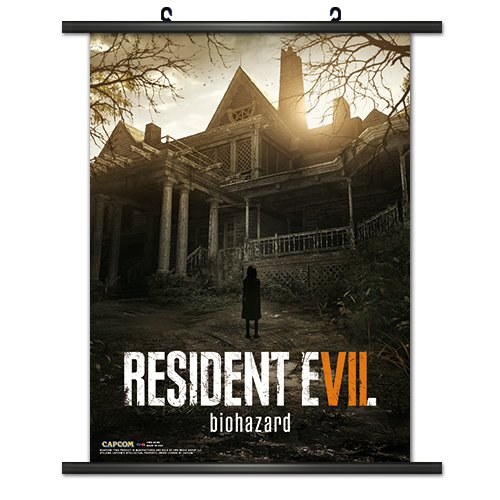 Officially Licensed CWS Media Group Resident Evil 7 Wall