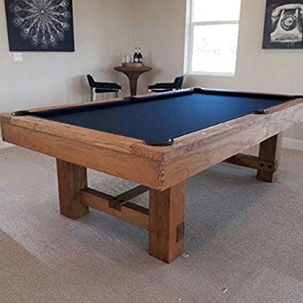 Tahoe Rustic 8 Ft. Pool Table   Natural Finish   Free Premier Felt And  Premium