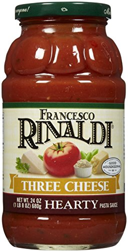 Francesco Rinaldi Three Cheese Hearty Pasta Sauce (Cheese Pasta Sauce compare prices)