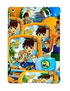 GFMXVzb5633ZIzzs Roustxjzdvq Awesome Case Cover Compatible With Ipad Air - Dora La Exploradora Ni A Go Diego Go Ni