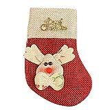 MARGUERAS 12PCS Santa Suit Christmas Silverware Holders (Fawn)