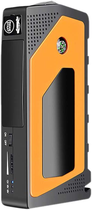 Autobatterie Starthilfe 12v Powerbank Auto Starterbatterie 69800mAh Starthilfekabel Auto LeeMon Starthilfe Auto Jump Starter Orange, A Starthilfeger/ät,mit LED Taschenlampe