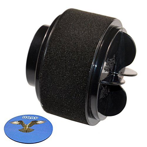 HQRP Inner & Outer Circular Filter Set for Bissell Easy Vac 31033, 3120, 3120-2, 31202, 31203, 3130, 3130A, 3130B, 31031, 31032 Vacuum Cleaner Coaster