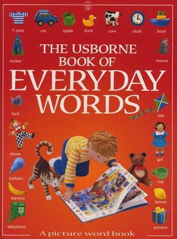 The Usborne Book of Everyday Words (Usborne Everyday Words) by Jo Litchfield (1999-03-26)