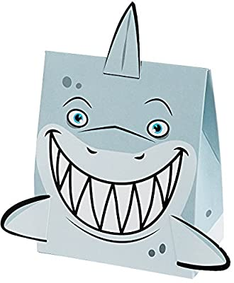Fun Express Shark Treat Boxes - 12 Pieces