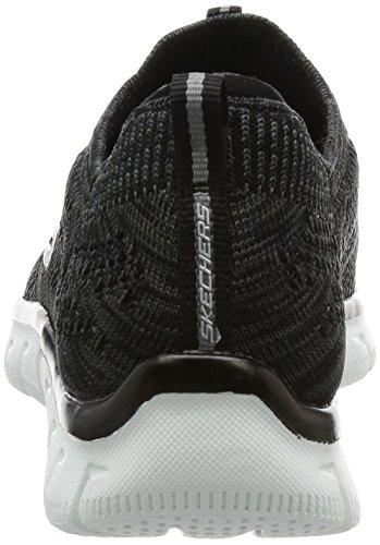 Sneaker Di Pensiero Acuto Delle Donne Di Skechers Nero / Bianco