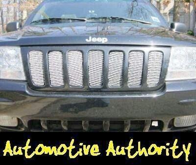 Jeep Grand Cherokee Chrome Mesh Grille Insert 99 03