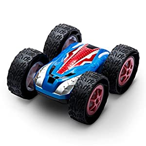 "USA Toyz RC Cars for Kids - ""Cyclone"" Stunt Remote Control Car w/ Off Road RC Car Tires and 2 RC Car Batteries for Fast RC Cars for Adults + Kids"