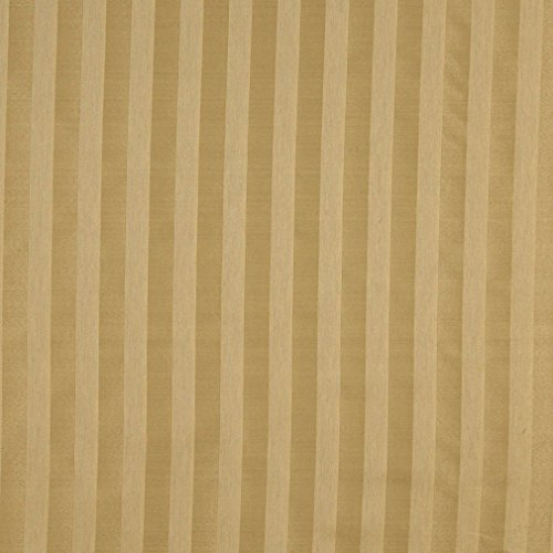 A465 Gold Two Toned Stripe Upholstery Fabric by The - Sectional Toned Set Two